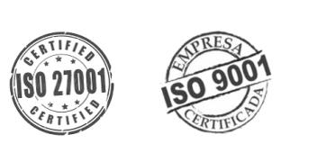 Imagen de AST se certifica en las normas ISO 9001 y 27001