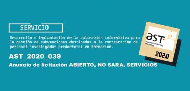 Imagen de licitación AST_2020_039