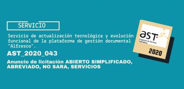 Imagen de licitación AST_2020_043
