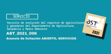 Imagen de licitación AST_2021_006