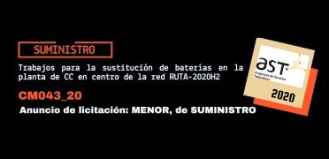 Imagen de Licitación CM043_20