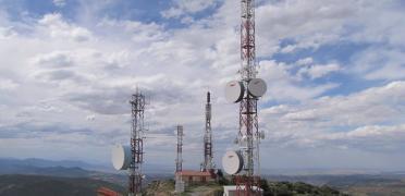 Imagen de un centro de telecomunicaciones