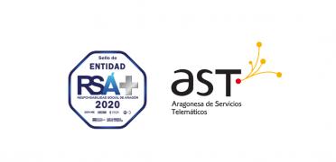 Imagen de AST recibe el sello RSA PLUS 2020 reforzando nuestro compromiso con la responsabilidad social
