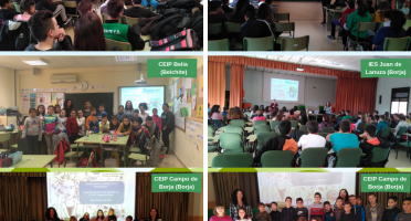 Imagen de centros educativos en Belchite y Borja