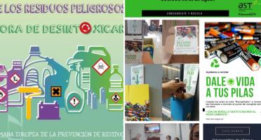Imagen de actividades dentro de la semana europea de la prevención de residuos