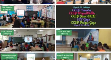 Imagen de centros participantes en el Día de Internet