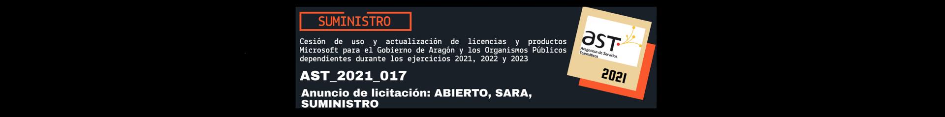 Imagen de licitación AST_2021_017