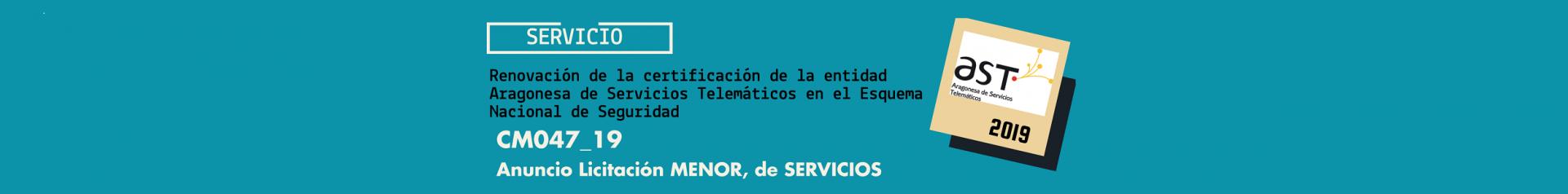 Licitación renovación certificación ENS