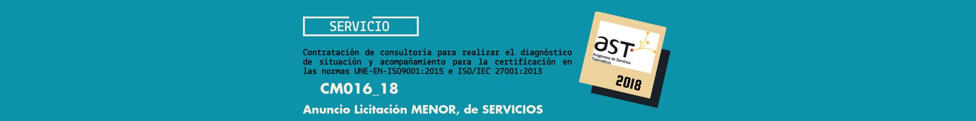 Imagen de licitación CM016_18