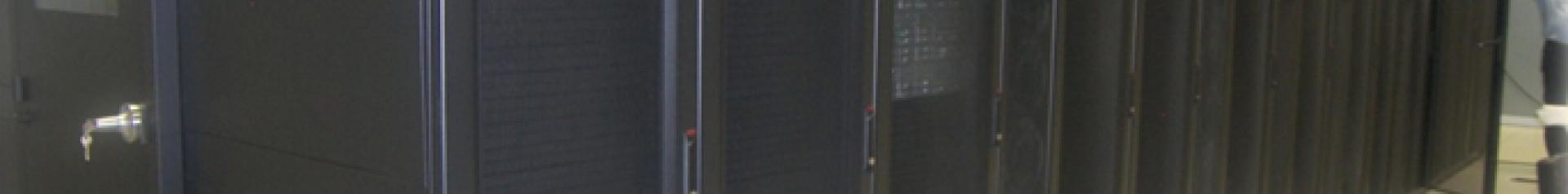 Imagen de modernización de los servidores de red del Gobierno de Aragón