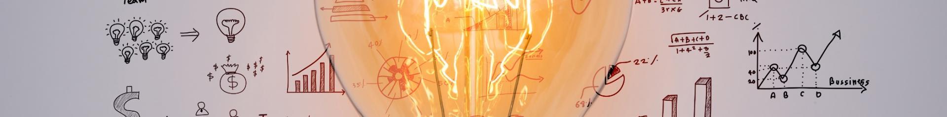 Imagen de idea en http://www.freepik.es/foto-gratis/bombilla-con-el-grafico-de-dibujo_1007991.htm, diseñado por Freepik